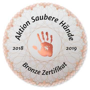 Zertifizierungen / Auszeichnungen / Roland-Klinik